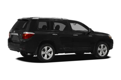 3/4 Rear Glamour  2010 Toyota Highlander