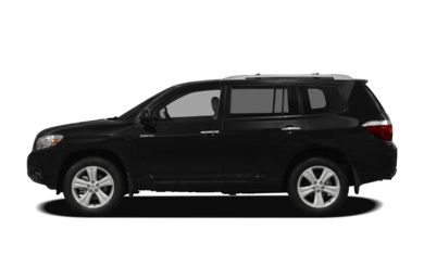 90 Degree Profile 2010 Toyota Highlander
