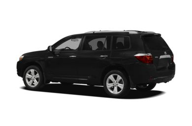 Surround 3/4 Rear - Drivers Side  2010 Toyota Highlander