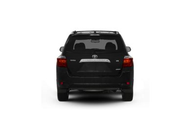 Surround Rear Profile 2010 Toyota Highlander
