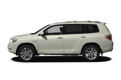 90 Degree Profile 2010 Toyota Highlander Hybrid