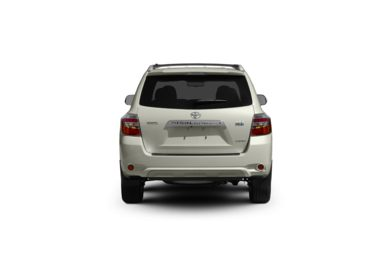 Surround Rear Profile 2010 Toyota Highlander Hybrid