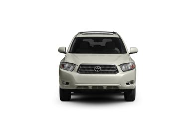 Surround Front Profile  2010 Toyota Highlander Hybrid