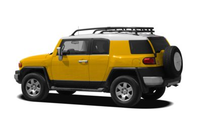 Surround 3/4 Rear - Drivers Side  2010 Toyota FJ Cruiser
