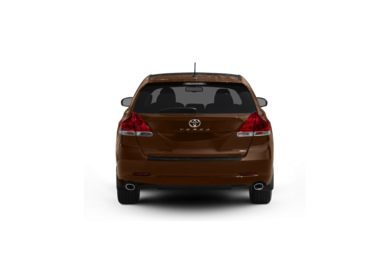 Surround Rear Profile 2010 Toyota Venza