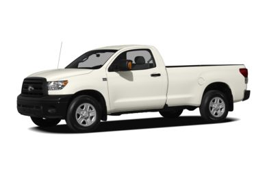 3/4 Front Glamour 2010 Toyota Tundra