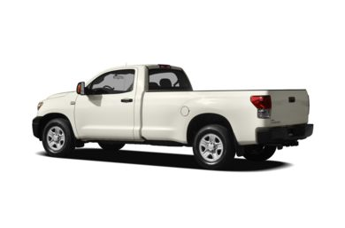 Surround 3/4 Rear - Drivers Side  2010 Toyota Tundra