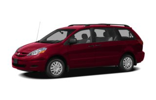 3/4 Front Glamour 2010 Toyota Sienna