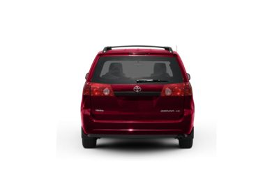 Surround Rear Profile 2010 Toyota Sienna