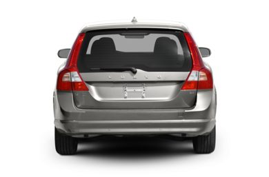 Rear Profile  2010 Volvo V70