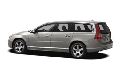 Surround 3/4 Rear - Drivers Side  2010 Volvo V70
