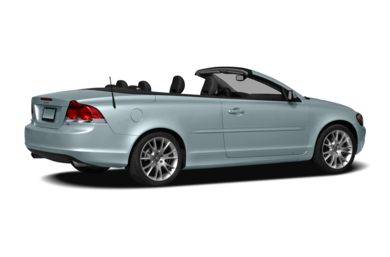 3/4 Rear Glamour  2010 Volvo C70