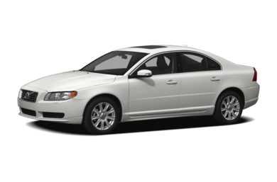 3/4 Front Glamour 2010 Volvo S80