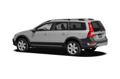 Surround 3/4 Rear - Drivers Side  2010 Volvo XC70