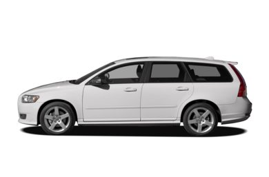 90 Degree Profile 2010 Volvo V50