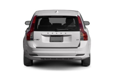 Rear Profile  2010 Volvo V50