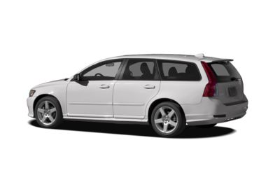 Surround 3/4 Rear - Drivers Side  2010 Volvo V50