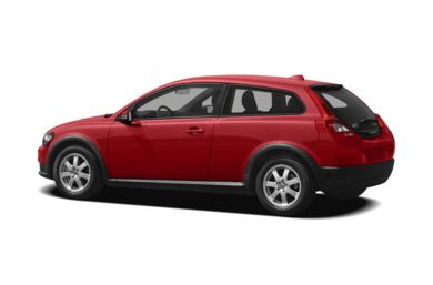 Surround 3/4 Rear - Drivers Side  2010 Volvo C30