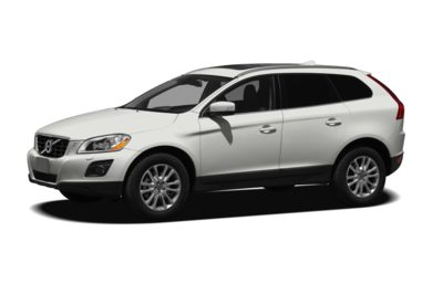 3/4 Front Glamour 2010 Volvo XC60