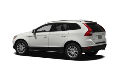 Surround 3/4 Rear - Drivers Side  2010 Volvo XC60
