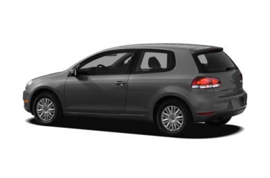 Surround 3/4 Rear - Drivers Side  2010 Volkswagen Golf