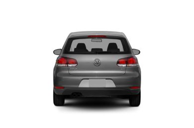 Surround Rear Profile 2010 Volkswagen Golf