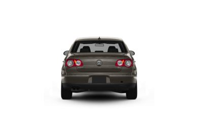 Surround Rear Profile 2010 Volkswagen Passat