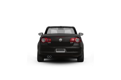 Surround Rear Profile 2010 Volkswagen Eos