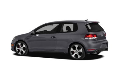 Surround 3/4 Rear - Drivers Side  2010 Volkswagen GTI