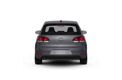 Surround Rear Profile 2010 Volkswagen GTI