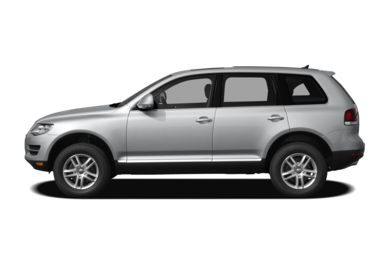 90 Degree Profile 2010 Volkswagen Touareg