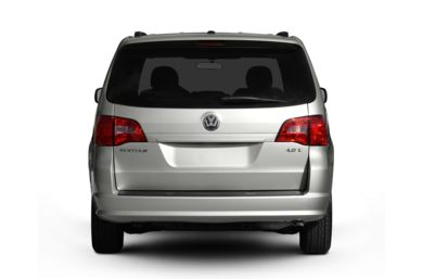 Rear Profile  2010 Volkswagen Routan