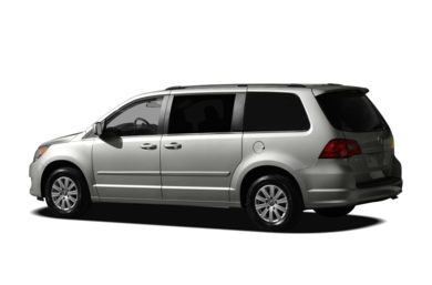 Surround 3/4 Rear - Drivers Side  2010 Volkswagen Routan