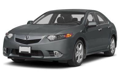 3/4 Front Glamour 2011 Acura TSX