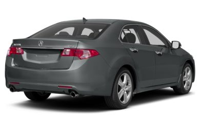 3/4 Rear Glamour  2011 Acura TSX