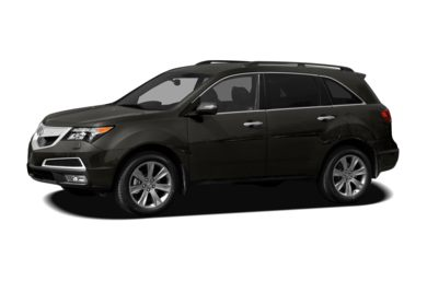 3/4 Front Glamour 2011 Acura MDX