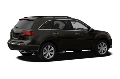 3/4 Rear Glamour  2011 Acura MDX
