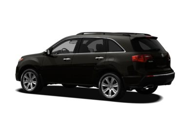 Surround 3/4 Rear - Drivers Side  2011 Acura MDX