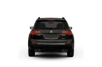 Surround Rear Profile 2011 Acura MDX