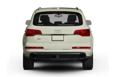 Rear Profile  2011 Audi Q7
