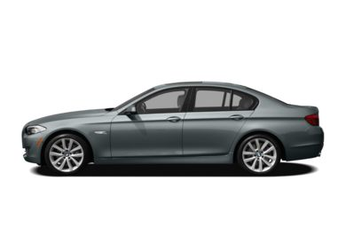 90 Degree Profile 2011 BMW 550
