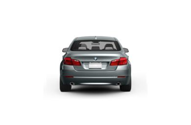 Surround Rear Profile 2011 BMW 550