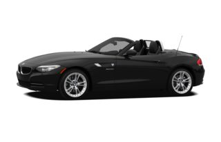 3/4 Front Glamour 2011 BMW Z4