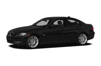 3/4 Front Glamour 2011 BMW 335d