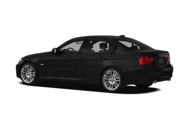 Surround 3/4 Rear - Drivers Side  2011 BMW 335d