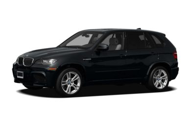 3/4 Front Glamour 2011 BMW X5 M