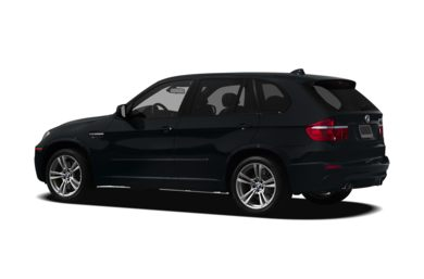 Surround 3/4 Rear - Drivers Side  2011 BMW X5 M