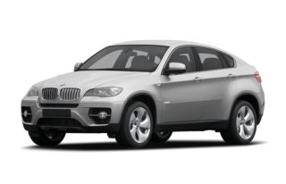 3/4 Front Glamour 2011 BMW ActiveHybrid X6