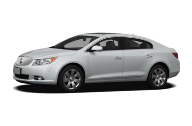 3/4 Front Glamour 2011 Buick LaCrosse