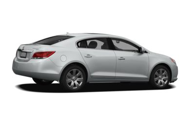 3/4 Rear Glamour  2011 Buick LaCrosse